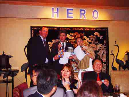 Warwick Ross at the 2009 HERO Christmas dinner in Hong Kong ©