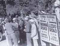 The Burma/China border 28/12/1945      Photo from The Burma Road by Don Webster ©