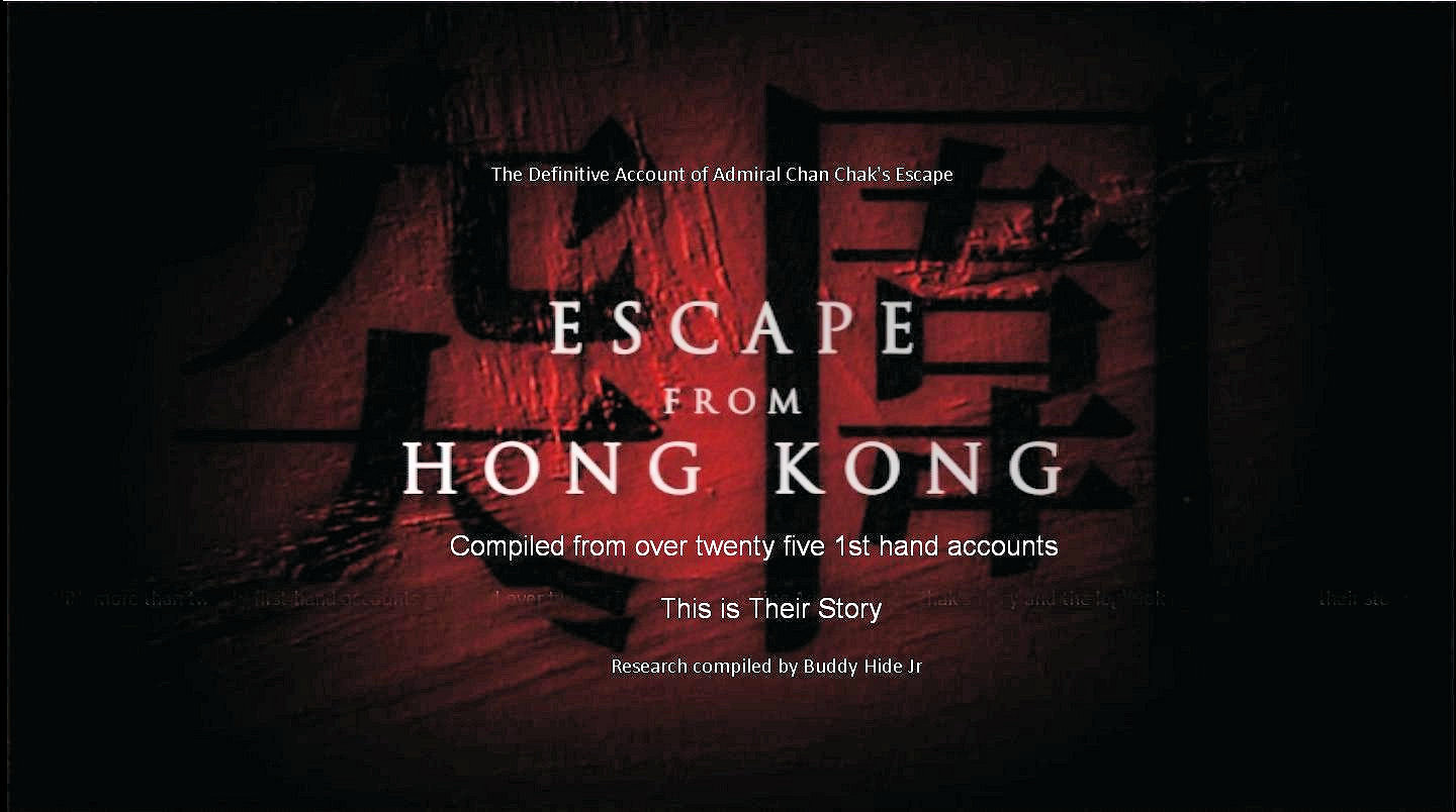 Escape from Hong Kong - The Definitive Account                                          Enter