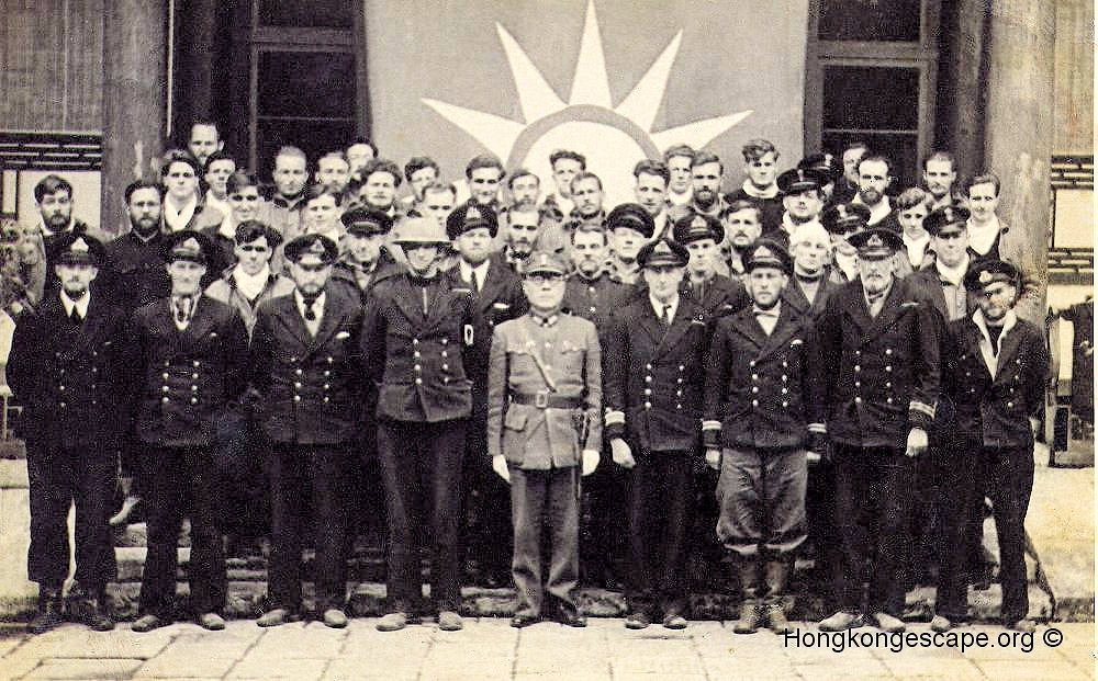 General Wu with the escape party at Guiyang 24th January 1942