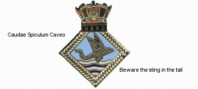 HERO Crest Beware the Sting in the Tail  	Click here to read more