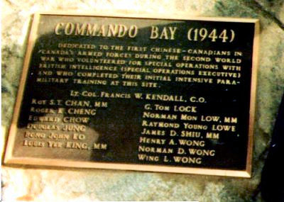 Mike Kendall Comando Bay Plaque © 	Click here for more