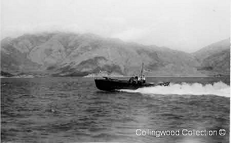MTB 10 on patrol in Hong Kong.      Photo from Lt C.J. Collingwood's collection ©