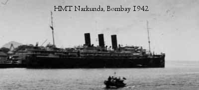 SS Narkunda in Bombay. Photos from Ashby & Collingwood collections ©