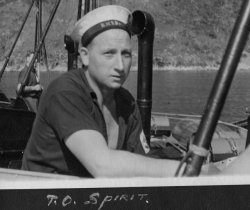 PO Bob Spirit wounded in the Balaclava action & later along with PO Alf Hunt survived the sinking of the Lisbon Maru.  	Photo from the Hide collection ©