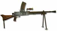 Type 96 light machine gun used by the IJA